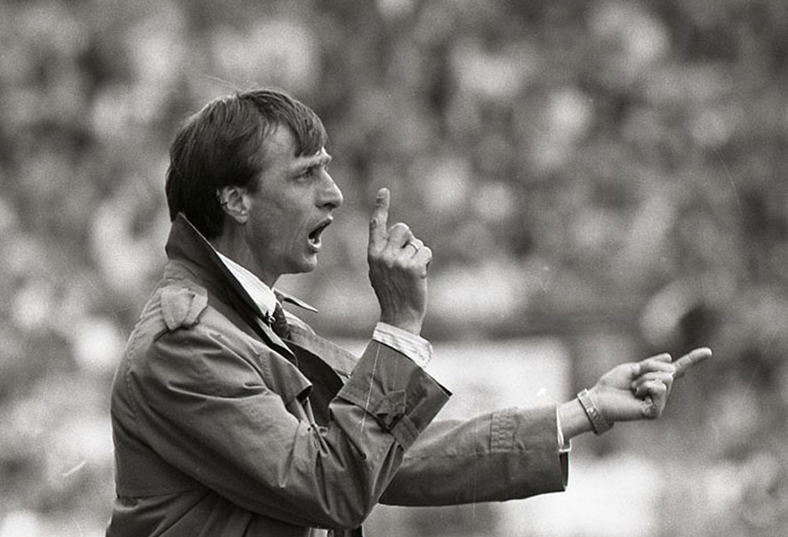 <p>As a coach, Johan Cruyff was equally influential, further developing and implementing his football philosophy at AFC Ajax and FC Barcelona. He began his career at AFC Ajax Amsterdam, winning the European Cup Winners Cup in 1987 and rocketing a number of great Dutch talents to world prominence.</p>